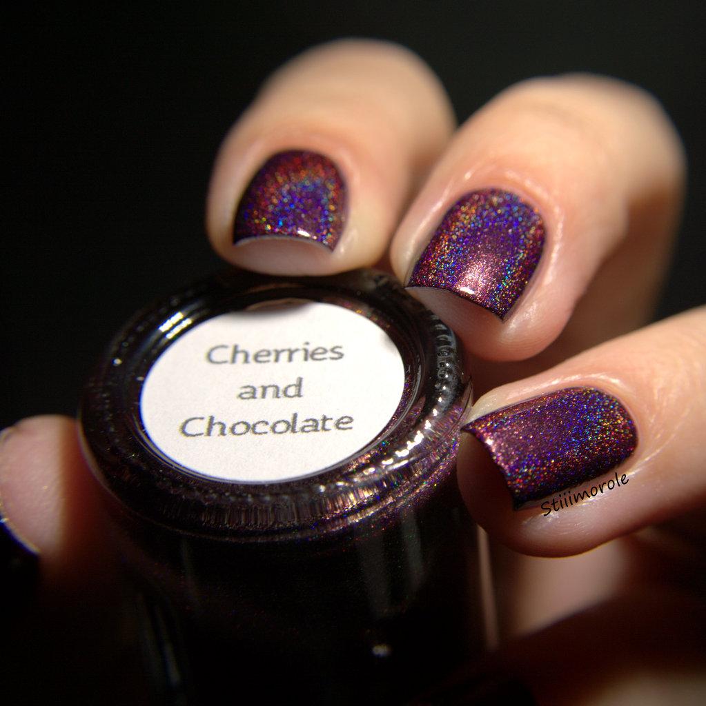 Cheeries and Chocolate -Smitten Polish  (1)