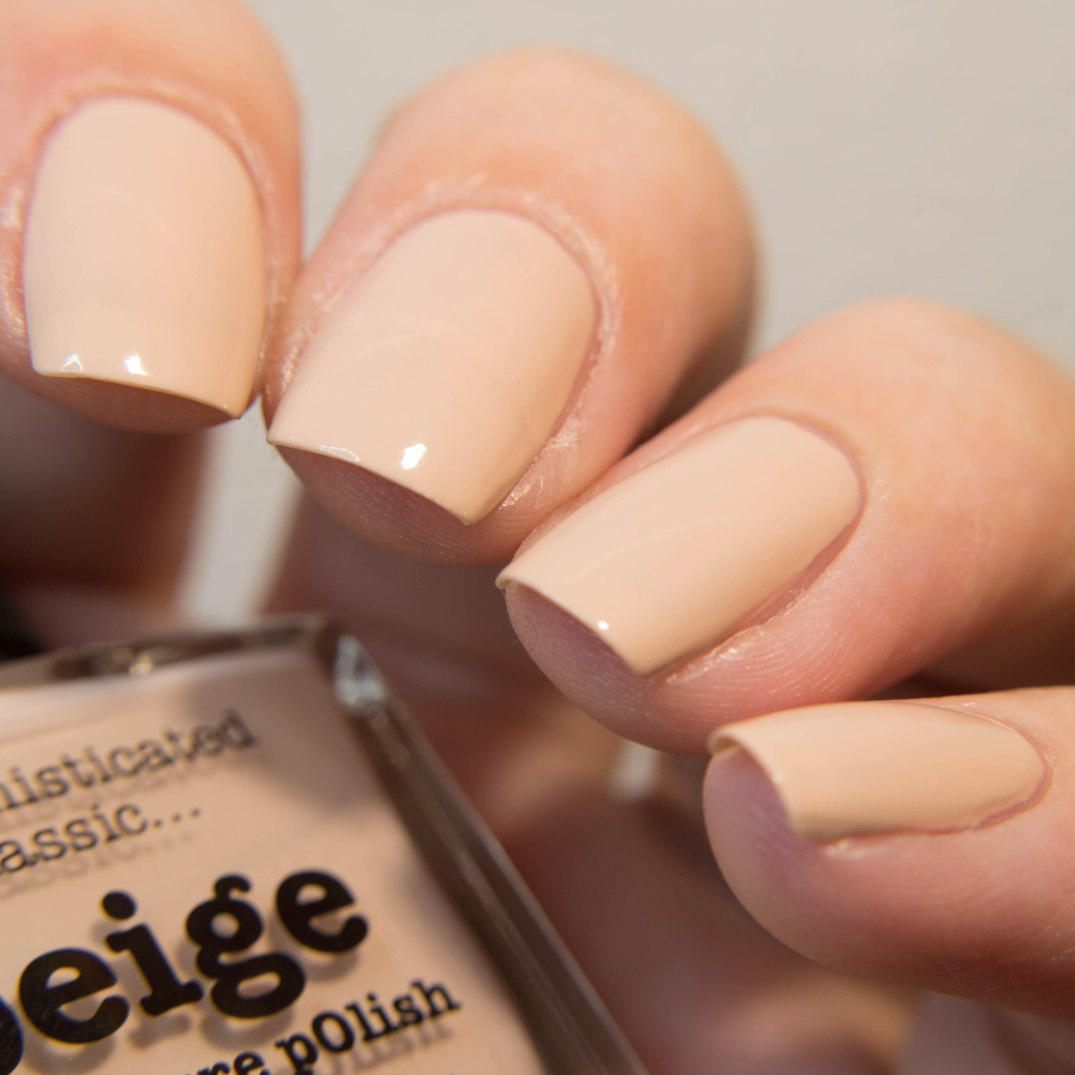 beige - picture polish