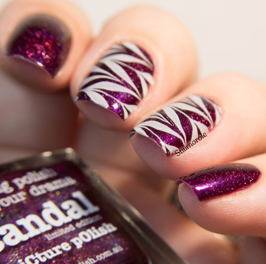 1-plaque stamping bornPS + vernis stamping b 1