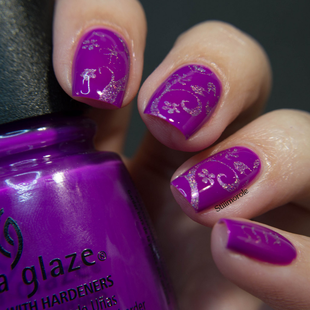 1-China Glaze - Violet vibes 8