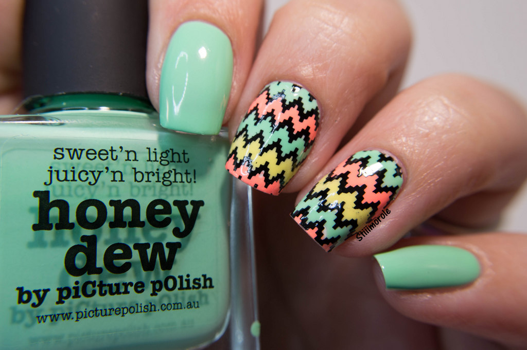 1-NA - Honey Dew chevron 1