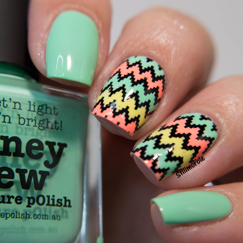 1-NA - Honey Dew chevron 2