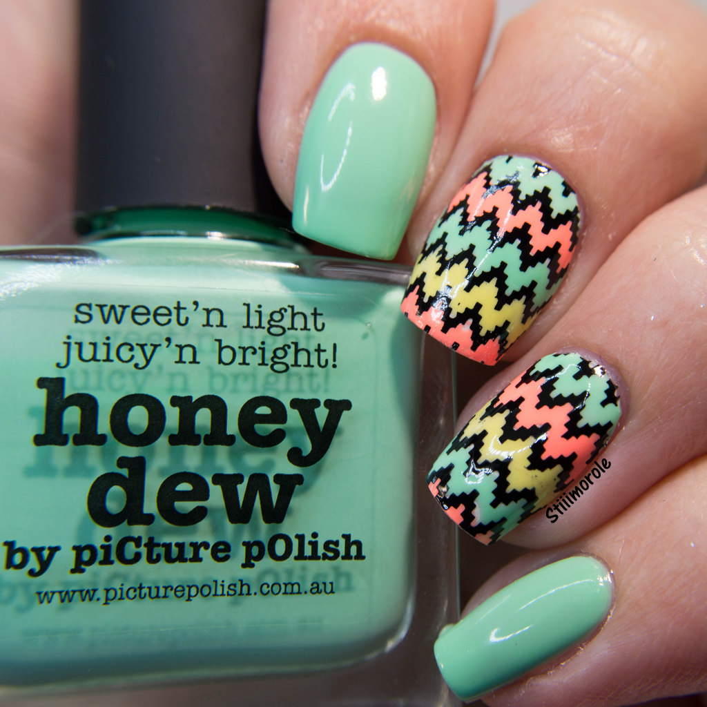 1-NA - Honey Dew chevron