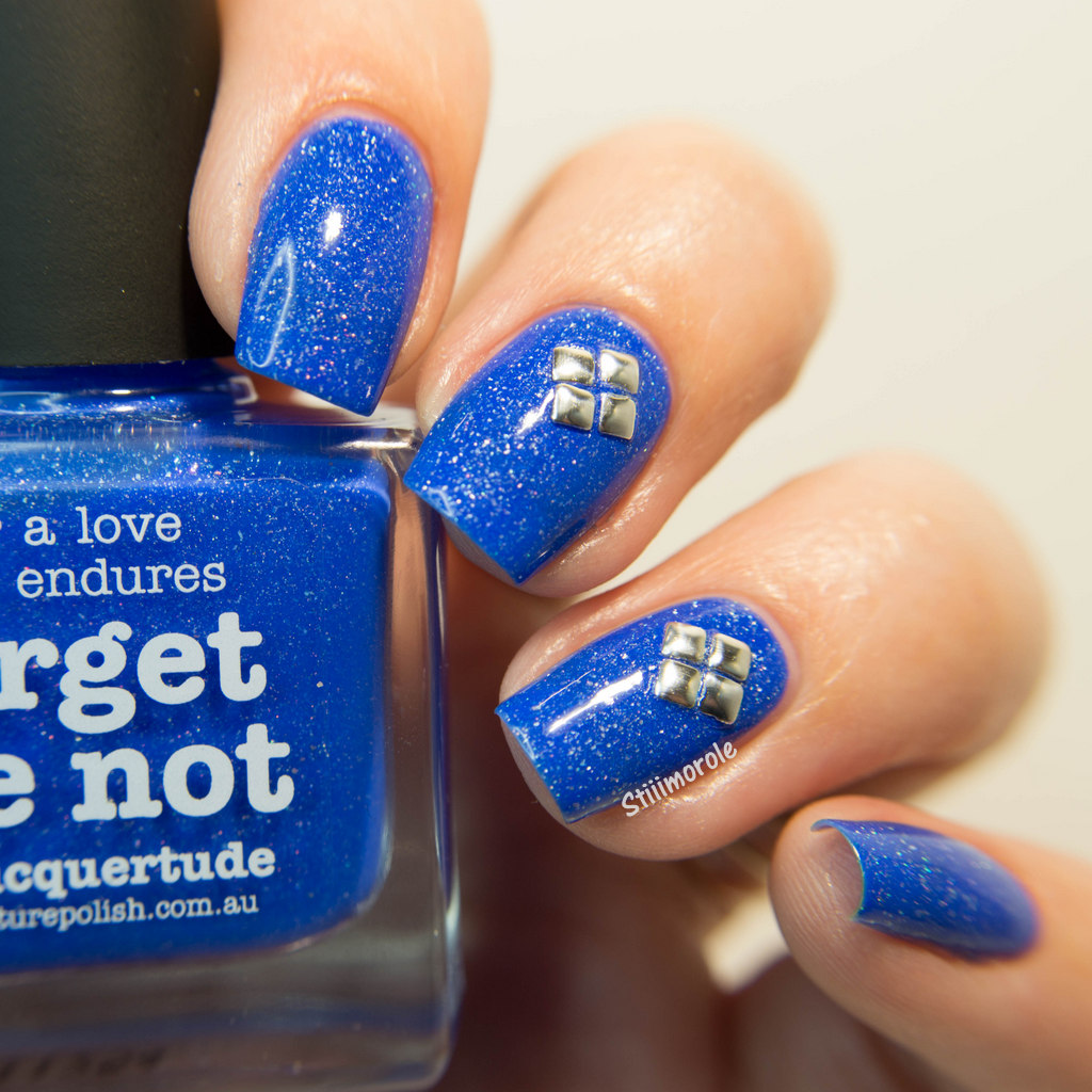 1-Picture Polish - Forget me not