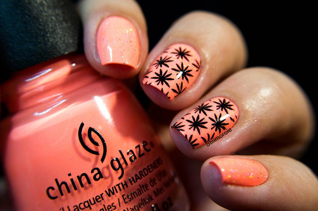 1-Flip flop Fantasy - China glaze stamping-3877